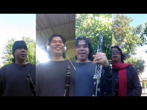BTS Dynamite for Clarinet Quartet Cover (Score + Parts)