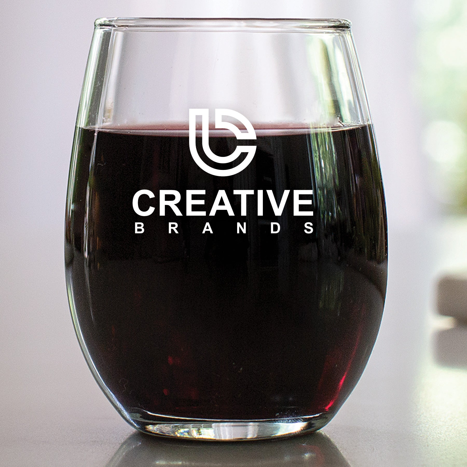 9 oz Stemless Wine Glass CB002SP