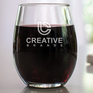 15 oz Stemless Wine Glass CB003LE - Engraved