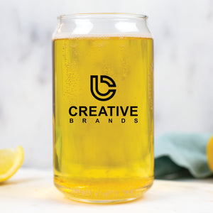 16 oz Can Glass CB051SP - Screen Print