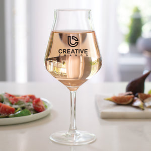 14 oz Hugo Craft Stemmed Glass CB216SP - Screen Print