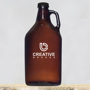 64 oz Amber Growler CB600SP