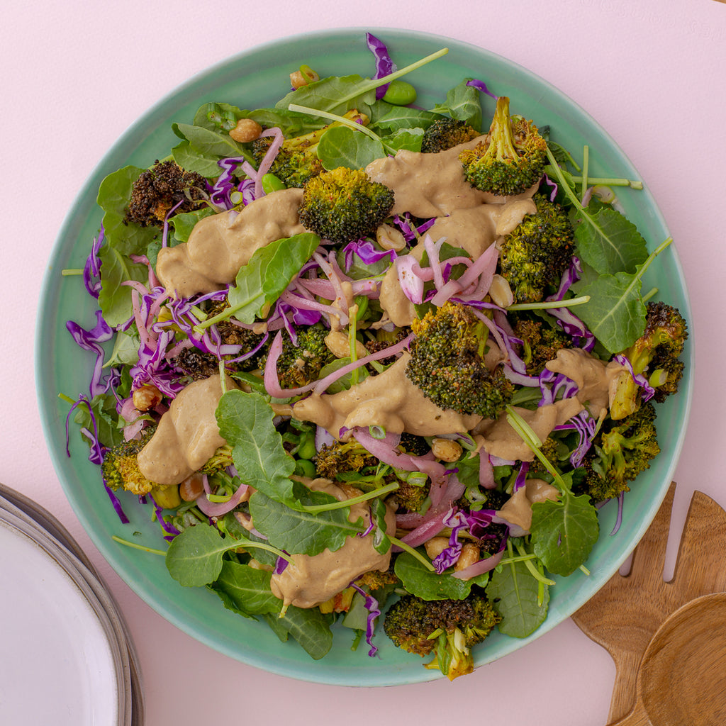 Family Style Broccoli Crunch Salad