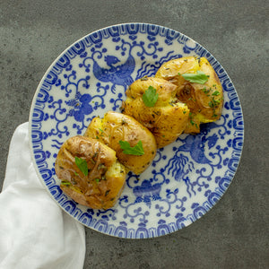 Herb Smashed Potatoes