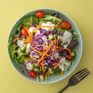House Salad with Ranch Dressing