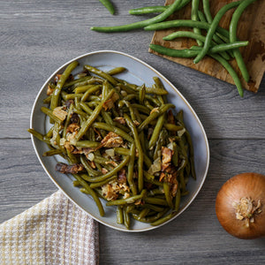 Braised Green Beans (Serves 4)