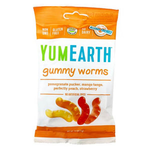 Yum Earth Gummy Worms