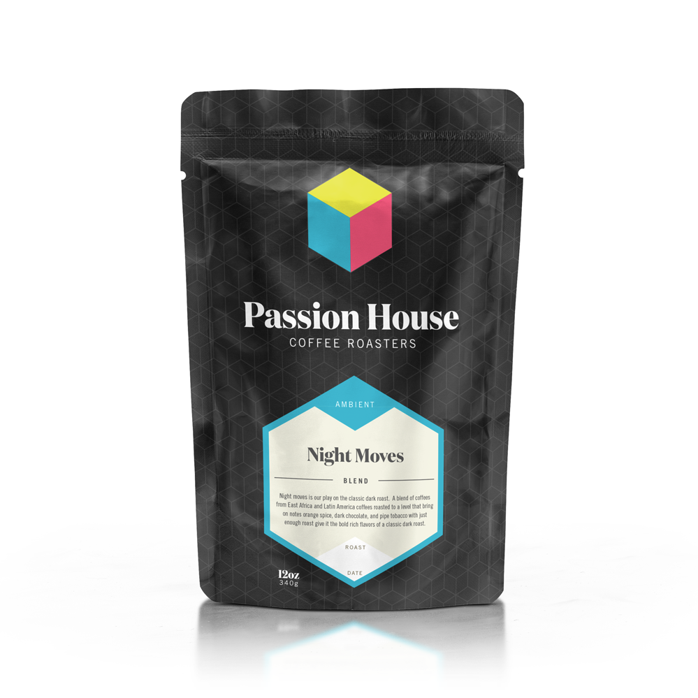 Passion House Coffee 12 oz ground bags