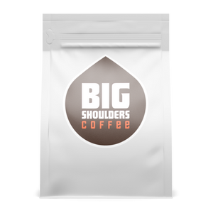 Big Shoulders Coffee 12 oz ground bags