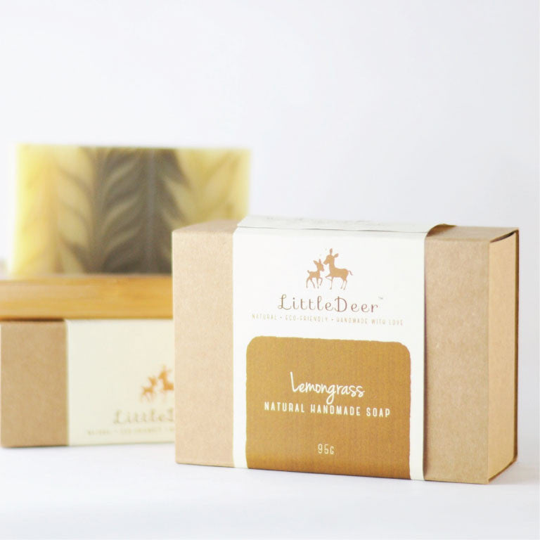 Lemongrass Soap (Cold Process Soap)