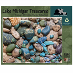 Load image into Gallery viewer, Petoskey Stone Puzzle