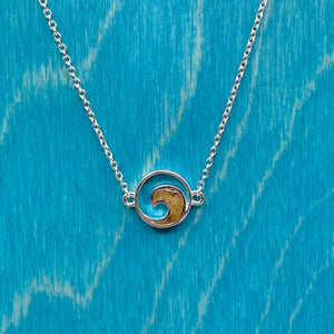 Delicate Destinations Wave Necklace