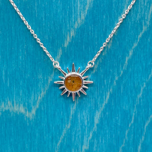 Delicate Destinations Sunburst Necklace