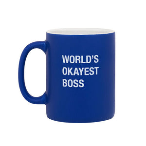 Mug World's Okayest Boss