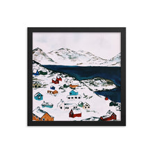 Load image into Gallery viewer, Winter Village | Framed Print