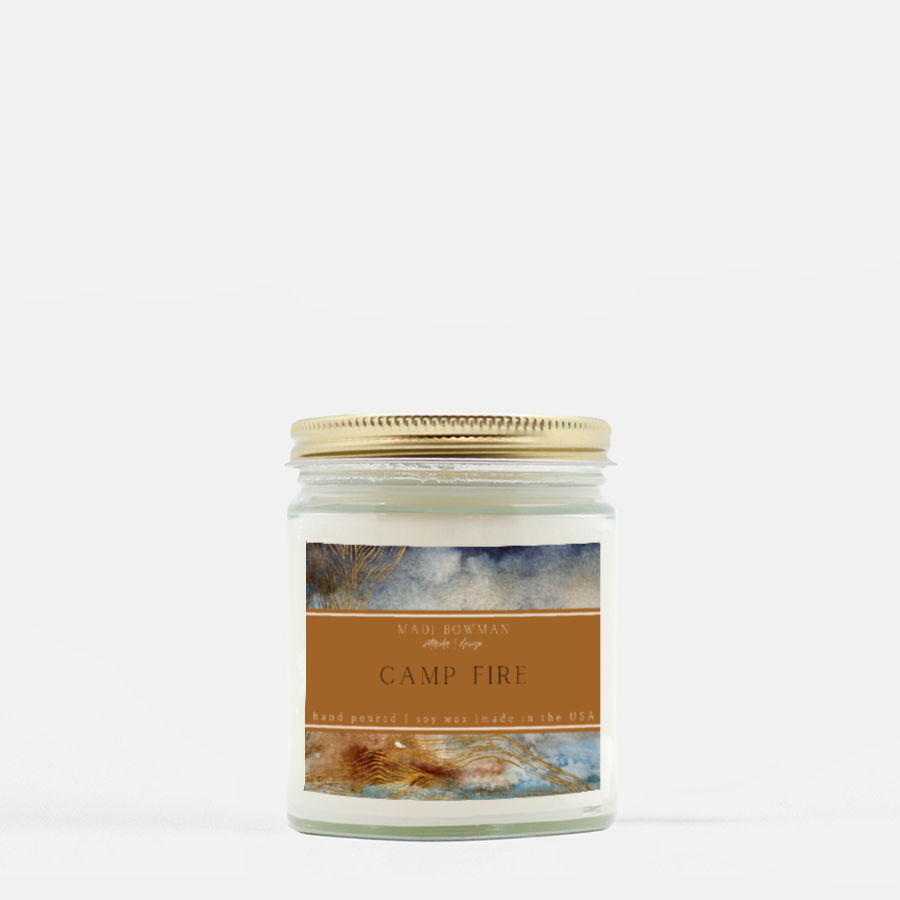 Camp Fire | Hand Poured Soy Candle