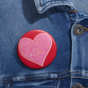 FTP Pink/Red Heart Button