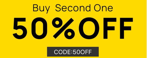 Buy Second One,50%off (code:50off)
