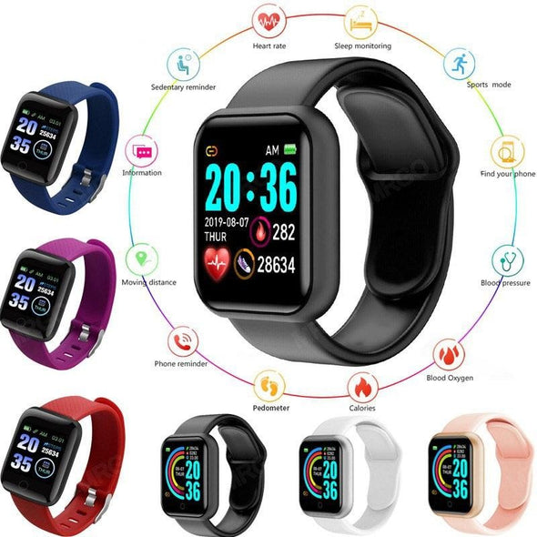 2021 Smart Watch Men Women  Sport Smart Watch