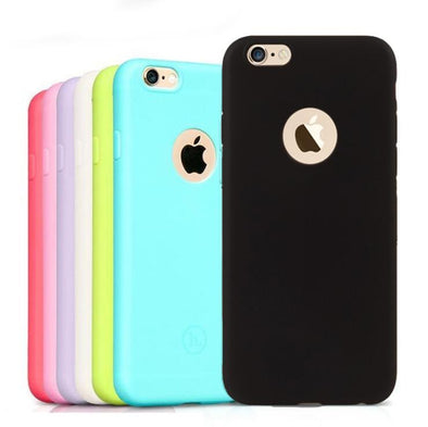 2021 Pure color silicone phone case for iPhone
