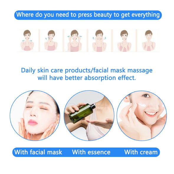 3 In 1 Electric Jade Roller Slimming Face Beauty Tool