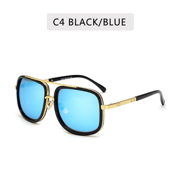 New Fashion Square Metal Sunglasses