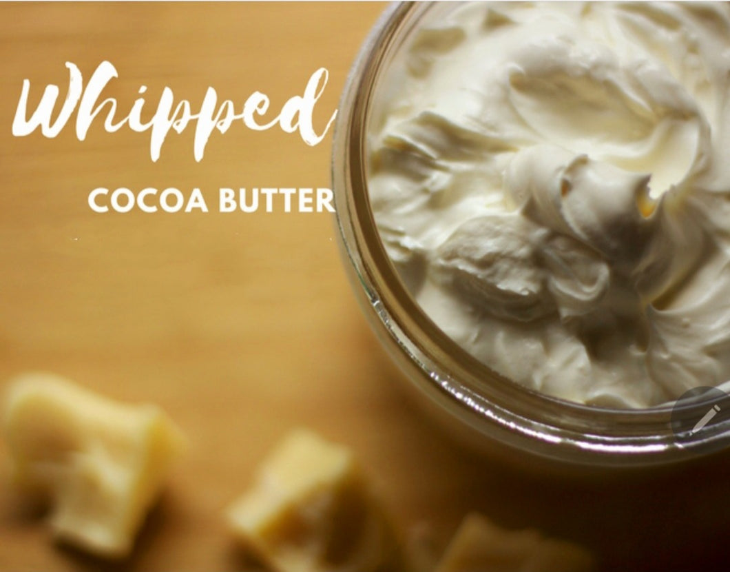 Whipped Cocoa Butter