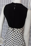Donald Brooks Polka-Dot Two Piece