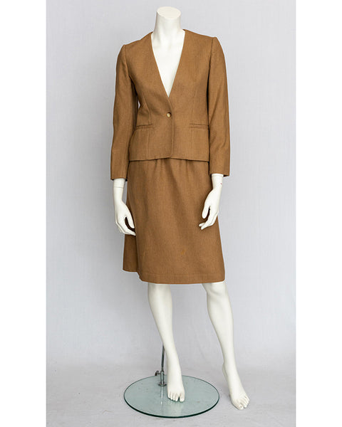 1970's Camel Wool Suit