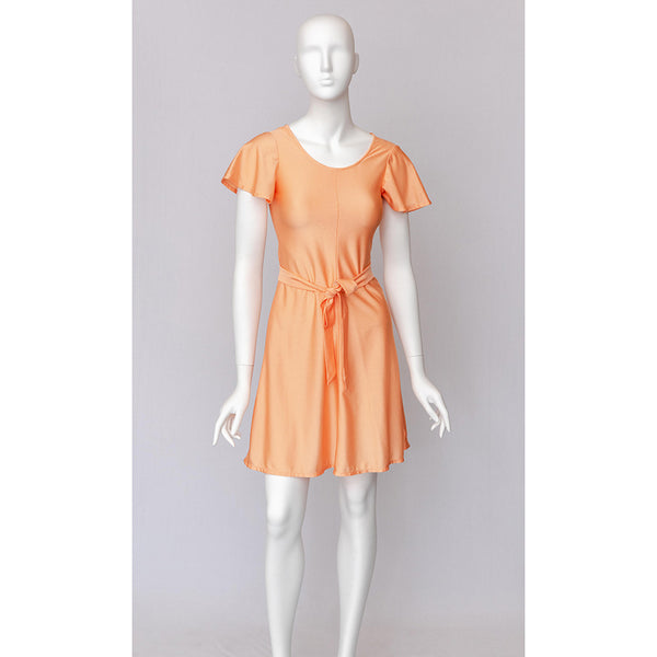 1970's Belted Orange Nightgown