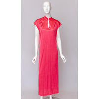 1970's Bright Pink Nightgown