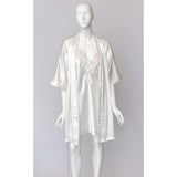 White Lace Sleepwear Set