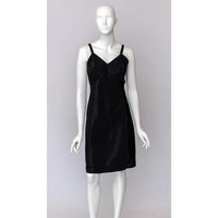 1950's Black Scallop Edge Slip