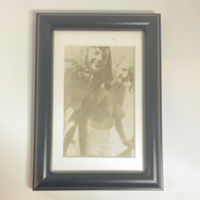 Antique Erotica in Black Frame