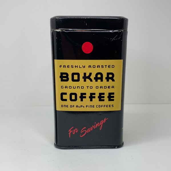 Vintage Bokar Coffee Tin