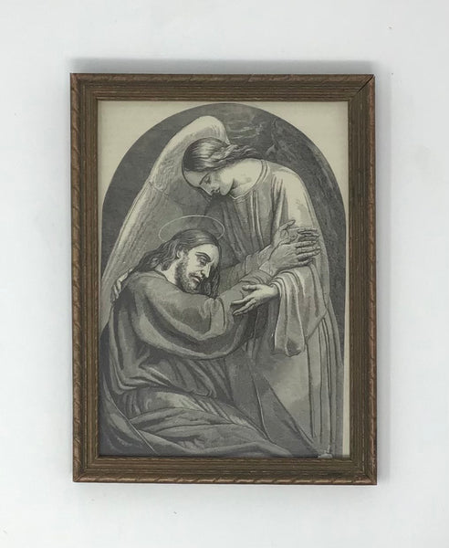 Antique Jesus Illustration