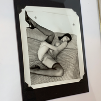 NSFW 60's Erotic Nude in Thigh Highs
