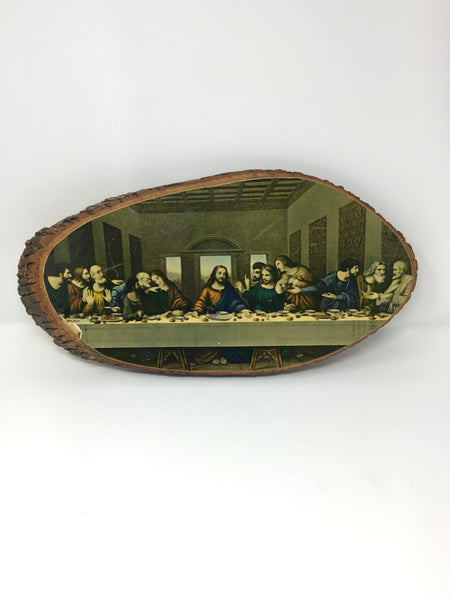 Last Supper On Wood
