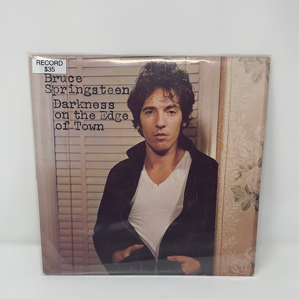 "Bruce Springsteen ""Darkness on the Edge of Town"" Record"