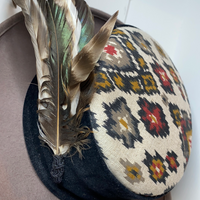 Native Patterned Wool Hat