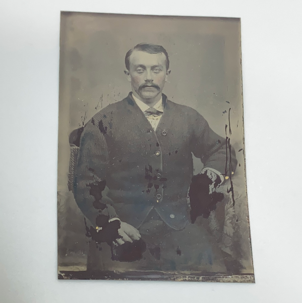 Tintype Photography of Adult