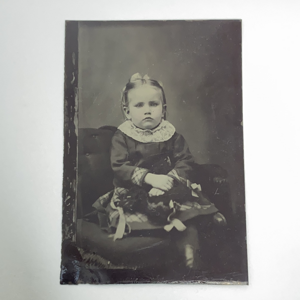Tintype Photography of Child