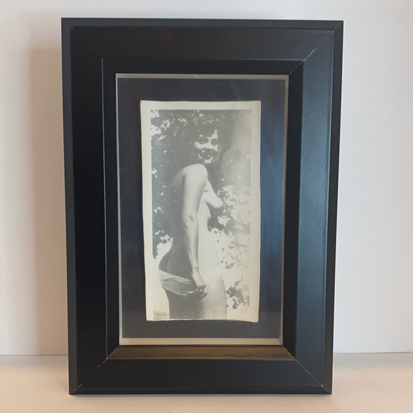 "Antique Erotica in Shadow Box Frame 4""x6"""