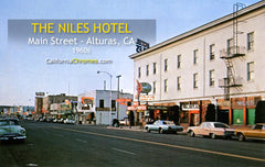 ALTURAS, California - Niles Hotel