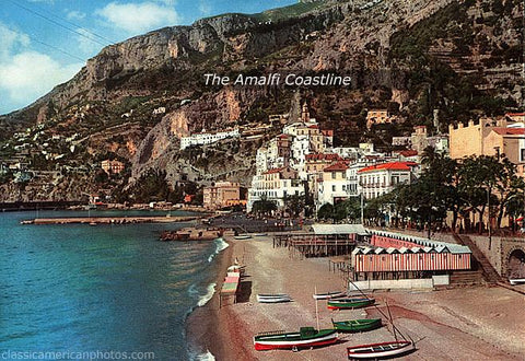 The Amalfi Coastline Italy, 1960