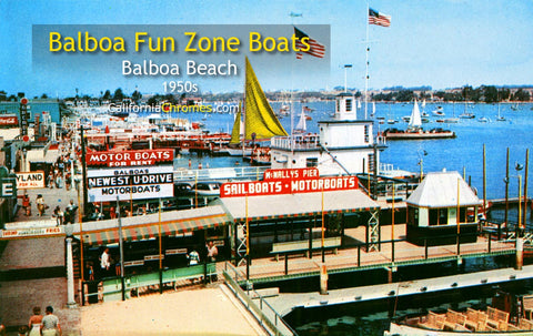 FUN ZONE BOATS - Balboa, California