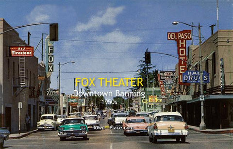 Fox Theater, Downtown Banning, c.1950s