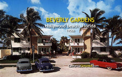 Beverly Gardens Hollywood Beach, Florida, c.1955