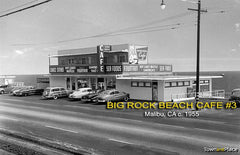 Big Rock Beach Cafe #3, Malibu CA c1955