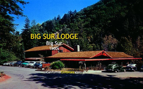 Big Sur Lodge c.1960